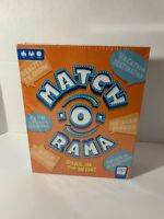 Match-O-Rama Family Board Game BRAND NEW Factory Sealed Party Fun For All Ages