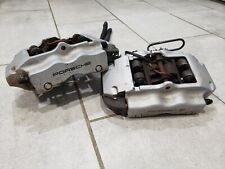 04-06 Porsche Cayenne Pair of 2 Brembo Rear Calipers Assembly OEM 4 piston