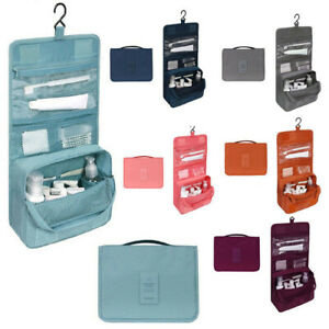 Travel Wash Bag Hanging Toiletry Folding Cosmetic Organizer Make Up Pouch