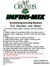 Infini-Mix growing medium 2 gallon bag hydroponic polystyrene rockwool perlite