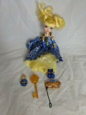 More details for ever after high blondie locks thronecoming doll + accessories