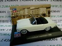 SIM7F altaya IXO 1/43 SIMCA : Océane Cabriolet 1958