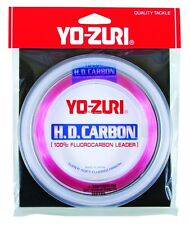 New Yo-Zuri Fluorocarbon Leader 15Lb 100Yds Spool Pink HD15LBDP100SPL