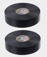 """2 PACK Scotch SUPER 88 Black ELECTRICAL TAPE Premium 3/4"""" x 66 ft. L 6143-BA-100"""