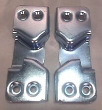 New Pair (2) of 1947-1951* Chevy GMC Pickup Truck Door Latch Strikers Plates