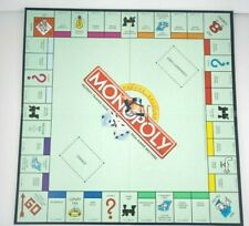 Monopoly Deluxe Edition 2000 Game Board, Fold Up Special Edition