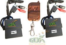 GDK 70m WIRELESS SKEET hand remote, 2 x clay trap release,control *70m skeet
