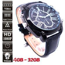 Hot 32 GB Motion Detect Spy Watch DVR 1080P IR Night Vision Hidden Video Camera