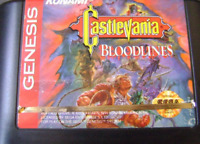 Castlevania Bloodlines 16 bit MD Game Card For Sega Mega 1994 Cartridge Box