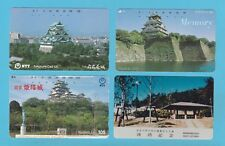 TELEPHONE CARDS  -  JAPAN  -  4  VARIOUS  JAPANESE  TELEPHONE  CARDS     ( D )