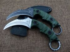 Strider D6 Karambit knife (Black or Silver blade)