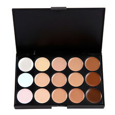 15 Color Contour Cream Concealer Kit Neutral Makeup Camouflage Palette