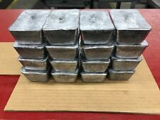 60+LBS LEAD Ingots From Indoor Range-ForCasting-Bullets-Sinkers,Etc. FREE SHIP!