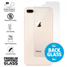IPhone 8 Plus; IPhone 7 Plus Rear; Back Coverage Tempered Glass Protector Clear