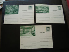 ALLEMAGNE - 3 cartes entier (cy65) germany