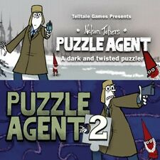Puzzle Agent 1 & 2 - Steam CD-Key Digital Download [PC & MAC] Instant Delivery