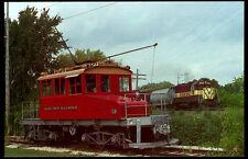 East Troy electric switcher railroad train postcard