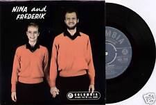 "NINA & FREDERIK ~ SELF TITLED ~ 1960 UK 4-TRACK MONO 7"" EP SINGLE + P/S"