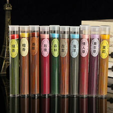 50pcs Floral Scent Incense Fragrance Candle Sticks Bulk Burner Air Freshener #ty