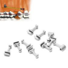 10 Pcs Dental Ortho Crimpable Hook Long Type Archwire Buccal Tube Ligature Tie