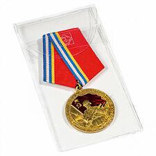 Schutztasche für Medaillen, Orden und Ehrenzeichen bis zu 50x100 mm, 50er-Pack