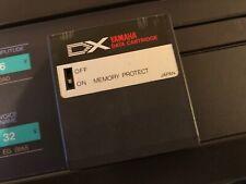 Yamaha DX7 Synthesizer Voice RAM Cartridge