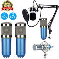 Professional BM-800 Condenser Mic Broadcasting Studio Recording Microphone Mic