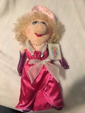 MISS PIGGY MUPPET plush doll Jim Henson's Muppets New with Tags (by Eden Toys)