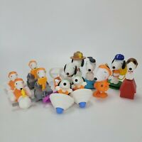 Lot of (13) Snoopy from The Peanuts McDonalds Happy Meal Toys