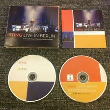 Sting - Live In Berlin CD & DVD (The Police)  Rock, Pop, Classical 2 Disc Album