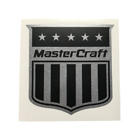 Mastercraft Boat Decal Silver Metalflake