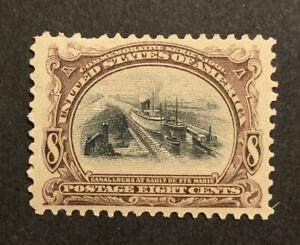TDStamps: US Stamps Scott#298 Mint H OG Spot Thin