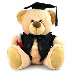 My Buddy Bear 31cm Buddy Graduation Bear Kids Soft Plush Stuffed Toy Brown 3y+