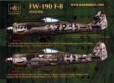 Hungarian Aero Decals 1/48 FOCKE WULF Fw-190F-8 Fighter