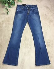 KUT For The Kloth Women's Jeans Sz 2 Farrah Baby Bootcut Distressed Stretch $58