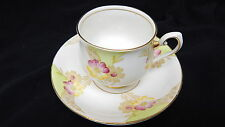 VINTAGE PHOENIX TF&S FINE BONE CHINA ENGLAND PRETTY FLOWERS TEA CUP AND SAUCER