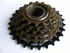 6 speed freewheel 14 - 28T rear wheel sprocket cassette