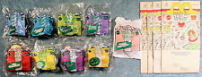 1993 Happy Meal Toys  TOTALLY TOY HOLIDAY  Mint Set (8) + U-3 + 4 Bags    mattel