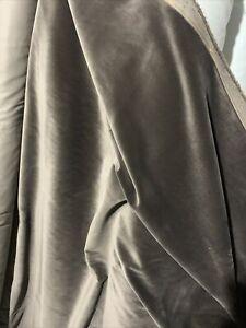 DESIGNERS GUILD VARESE VELVET - UPHOLSTERY - MOLESKIN - FABRIC SIZE 2.5M X 140cm