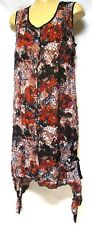 TS dress TAKING SHAPE plus sz S-M (18) Eden Summer Dress soft light crushed NWT