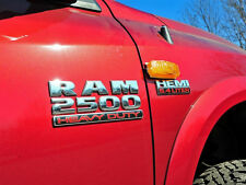 "1x OEM Chrome  ""RAM 2500 HEAVY DUTY "" Dodge  Emblem Badge 3D Y1U Mopar New"