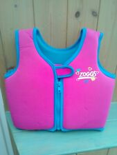 """KIDS """" ZOGGS """" SWIMMING FLOAT / BUOYANT AID/ LIFE JACKET VEST 2-3 YEARS"""