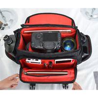 CADEN D12 Medium Camera Bag Case For Nikon Canon Sony DSLR Cameras Lenses GY