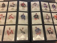 NHL - Set complet de toutes les cartes de base Upper Deck Artifacts - 2017/18