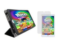 Black Folio Cover Case and Screen Protector for Acer Iconia Tab 8 A1-860 Tablet