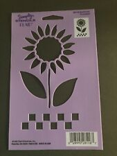 Plaid Simply Stencils~#28116~Sunflower