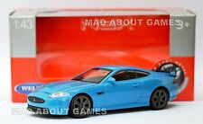 JAGUAR XKR-S 1:43 Car Metal Model Diecast Miniature Die Cast Blue