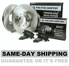 Front Brake Rotors and Metallic Pads 1995 1996 1997 FORD RANGER 4WD 4-WHEEL ABS