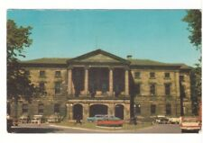 Provincial Building, Charlottetown, PEI, Vintage 1967 Chrome Postcard, Slogan