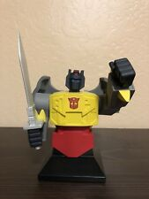 2002 Hard Hero Transformers GRIMLOCK Gen 1 Bust W/ Box MINT #2238 / 2500